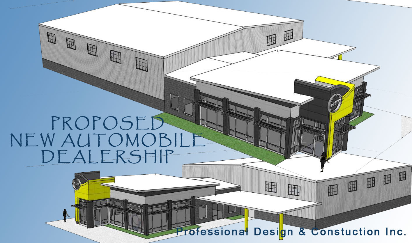 Professional design and construction for Floor plans auto dealers