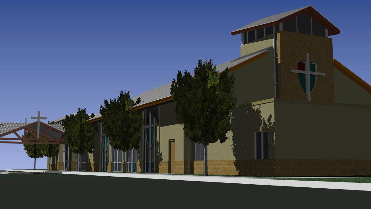 Professional design and construction for Church exterior design