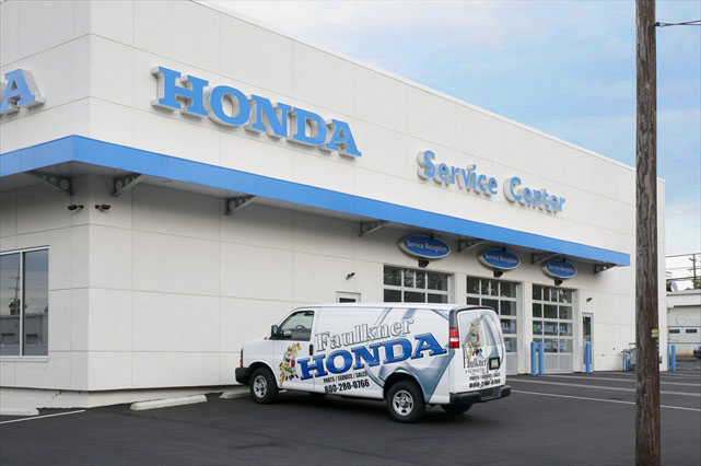 Projects Faulkner Honda Service Professional Design And