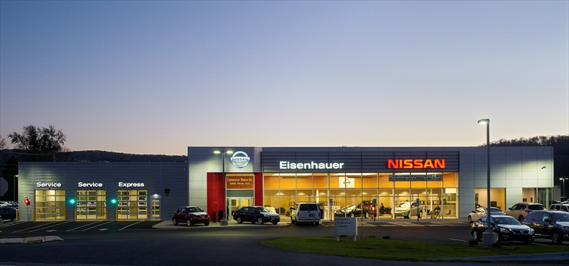 Projects Eisenhauer Nissan Professional Design And