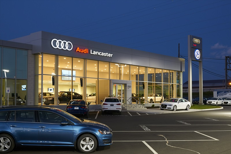 Projects_Autohaus Audi   Professional Design and Construction