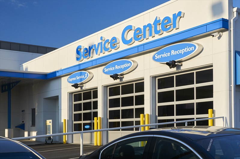 Projects_Jones Honda Service Addition | Professional ...