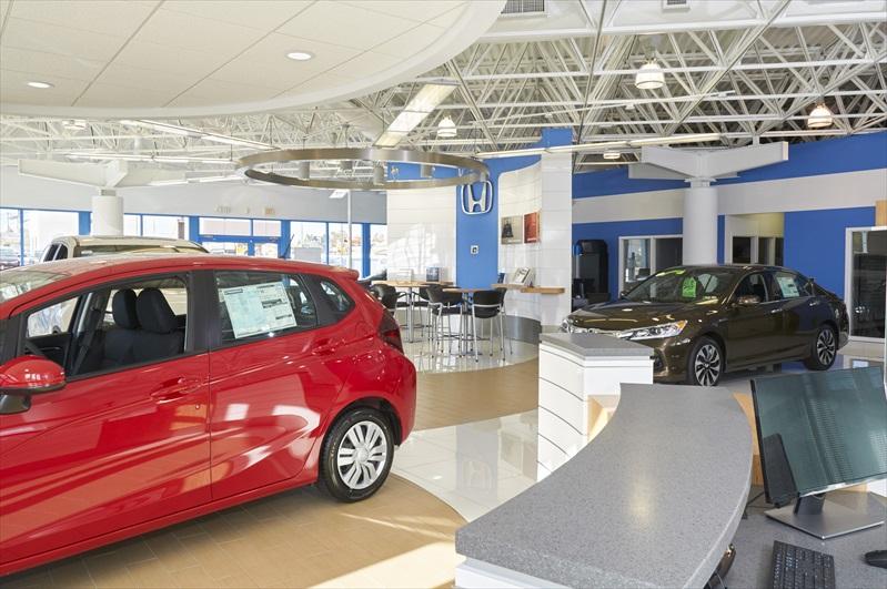 Jones Honda Lancaster Pa >> Projects_Jones Honda Showroom Lancaster | Professional Design and Construction