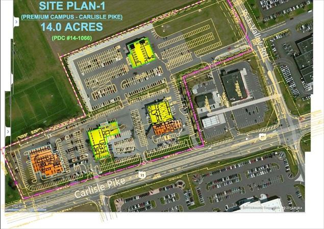 ProjectsFaulkner Auto Campus Development – Site Planning Site Development Inc